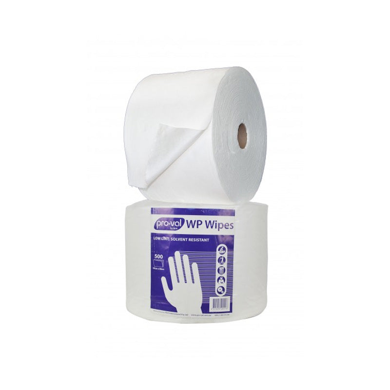WP Solvent Resistant Wipes - Roll