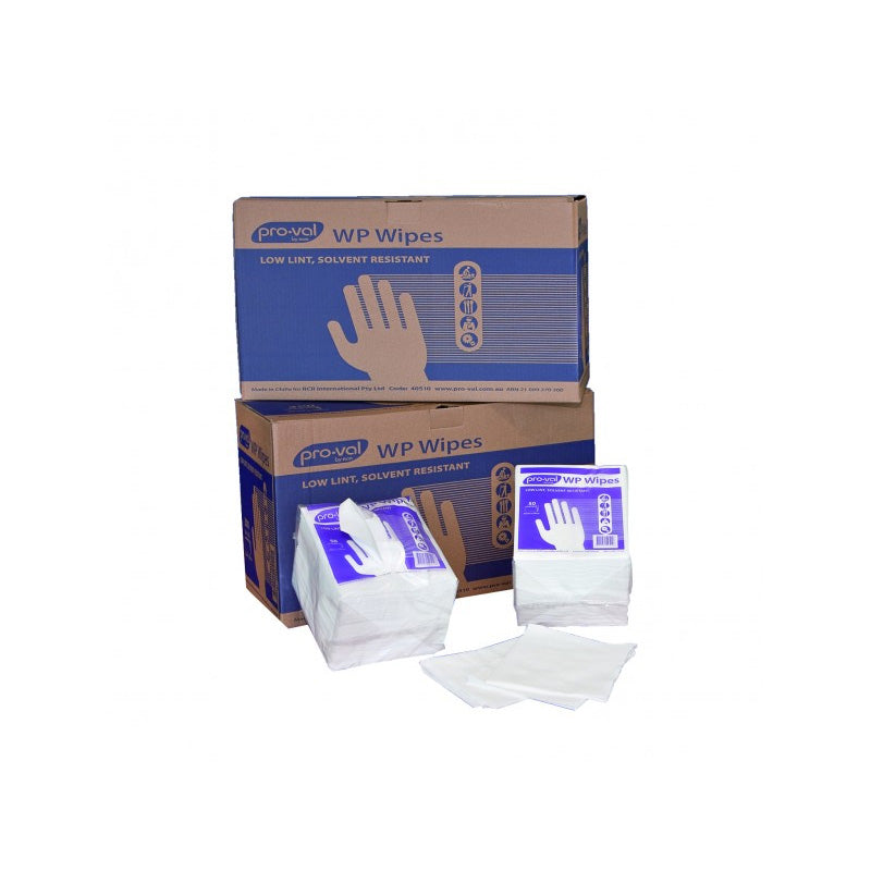 WP Solvent Resistant Wipes - Dispenser Bag