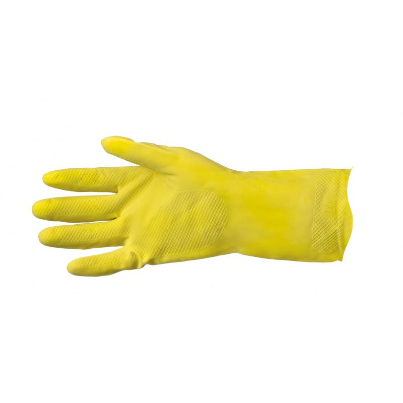 Thrifty Yellows - Flock Lined Rubber Glove
