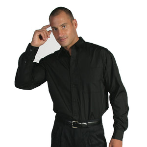 4132 - Polyester Cotton Business Shirt - Long Sleeve