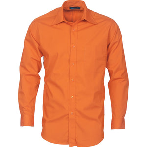 4152 - Mens Premier Poplin Business Shirts - Long Sleeve