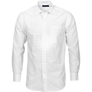 4158 - Mens Yarn Dyed Check Shirts - Long Sleeve
