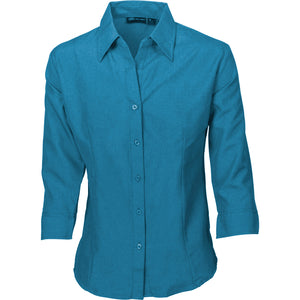 4238 - Ladies Cool-Breathe Shirts - 3/4 Sleeve