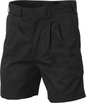 Pleat Front Permanent Press Shorts