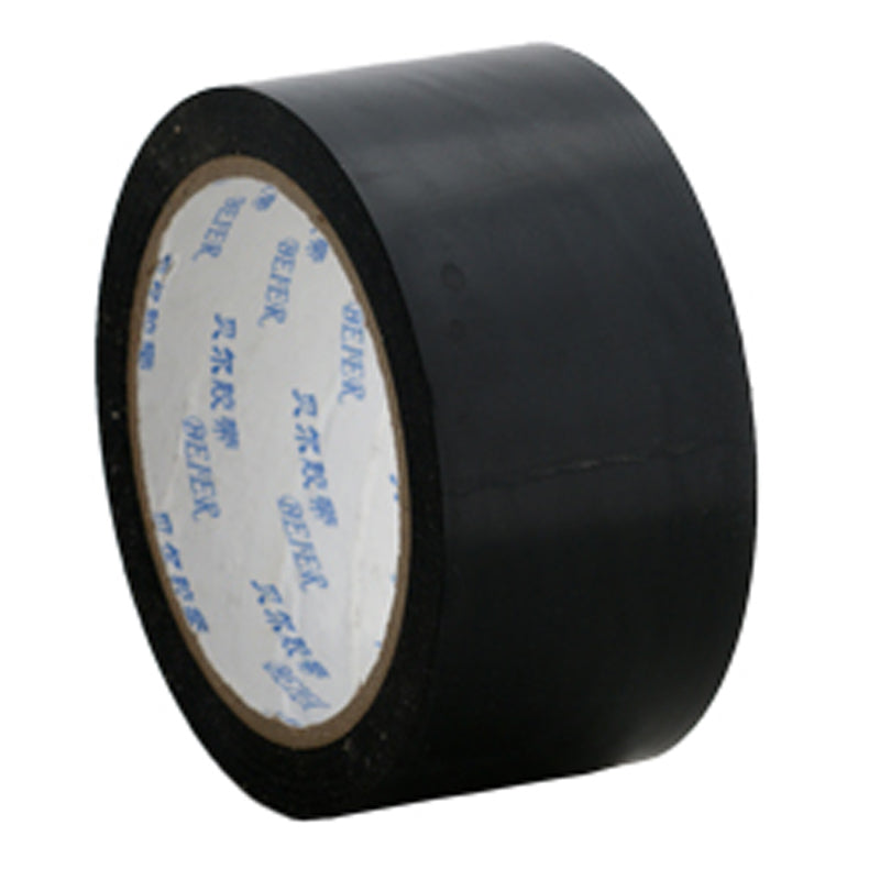 Floor marking tape 50mm Black