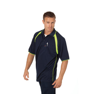 5216 - Coolbreathe Contrast Polo - Short Sleeve