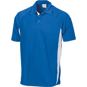 Adult Cool-Breathe Contrast Polo