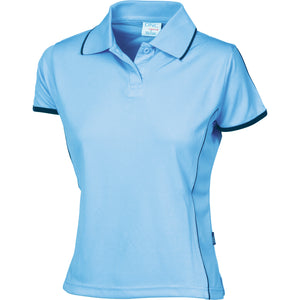 5225 - Ladies Cool-Breathe Piping Polo