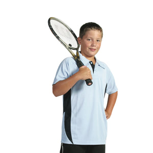 5228 - Kids Cool-Breathe Side Panel Polo Shirt