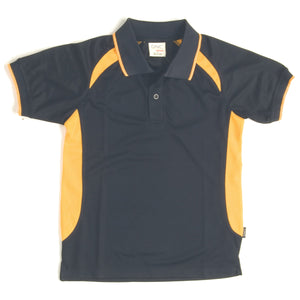 5262 - Adults Air Flow Contrast Raglan Mesh Polo