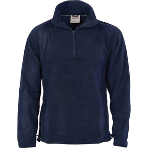 Unisex Half Zip Polar Fleece