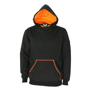 5423 - Kangaroo pocket super brushed fleece hoodie