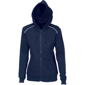 5426 - Ladies Contast Piping Fleecy Hoodie