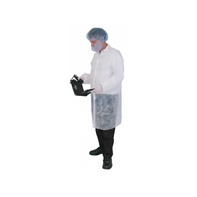 PP Disposable Lab & Dust Coats - No Pockets