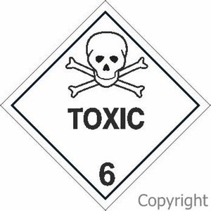 HAZCHEM Toxic Sign