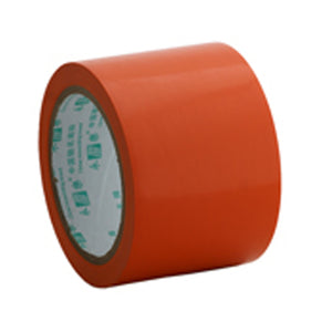 Floor marking tape 75mm Orange