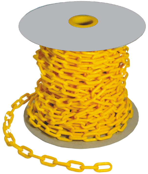 Yellow Plastic Safety Chain – Heavy Duty 6mm