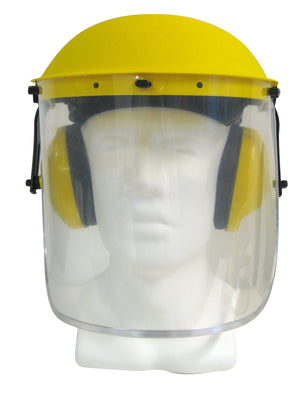 Maxisafe Clear Visor with Earmuffs