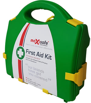 Maxisafe 'Work Place' First Aid Kit – hard case