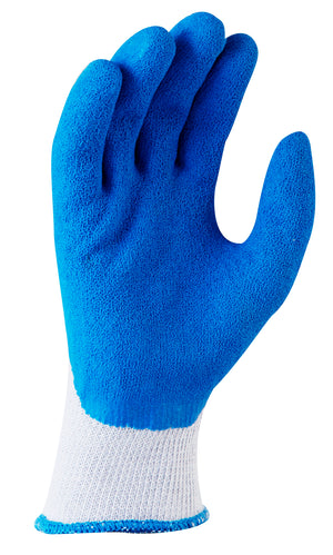 Blue Grippa Latex Glove