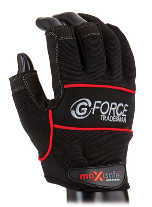 G-Force 'Tradesman' 2 Finger Gloves