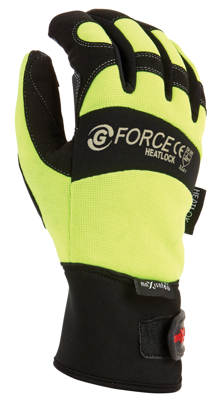 Maxisafe G-Force 'Heatlock' Thermal Gloves