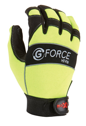 G-Force HiVis Mechanics Glove