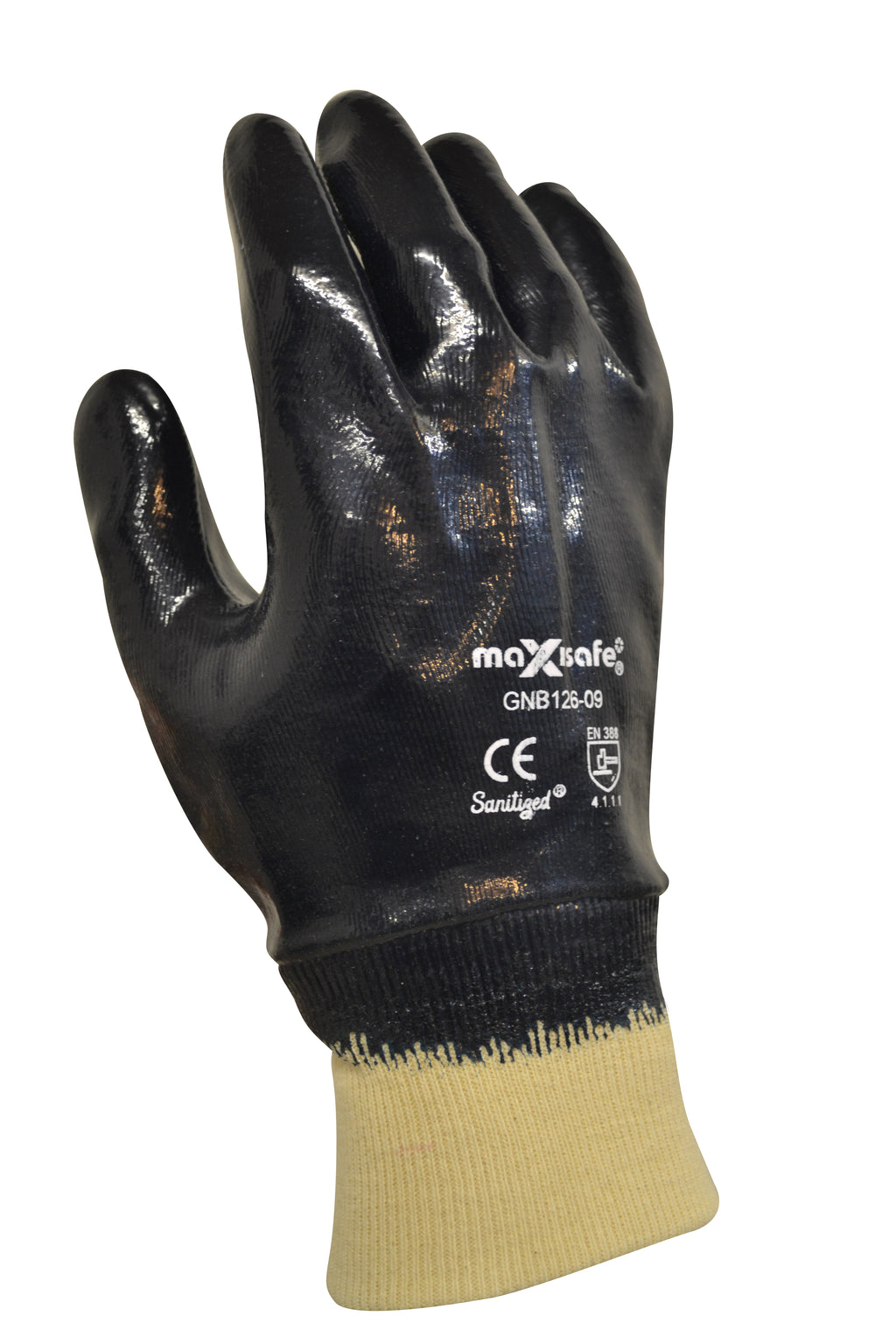 Blue Knight Fully Coated Nitrile Glove