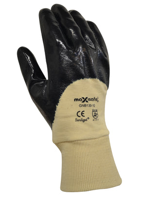 Blue Knight 3/4 Nitrile Coated Glove