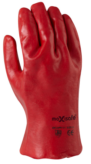 Red PVC 27cm Gauntlet