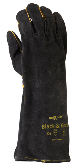 'Black & Gold' Welders Glove