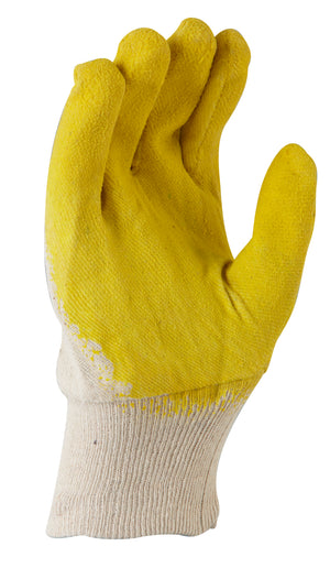Glass Gripper Latex Glove