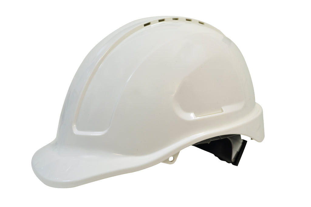 Maxiguard Vented Hardhat – Ratchet Harness