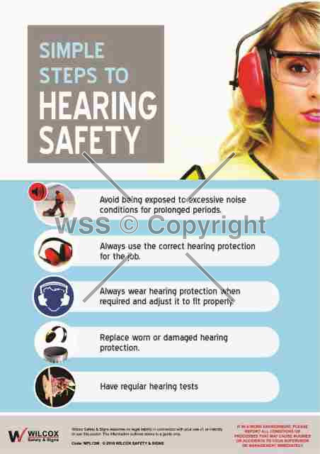 Hearing Safety Sign