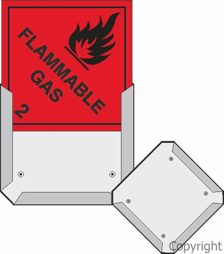 Metal Frame For HAZCHEM Signs