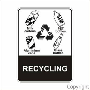 Recycling Sign W/ Picture