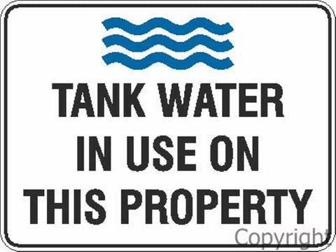 Water Restriction Signs & Labels