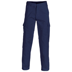 3312 - Cotton Drill Cargo Navy Pants