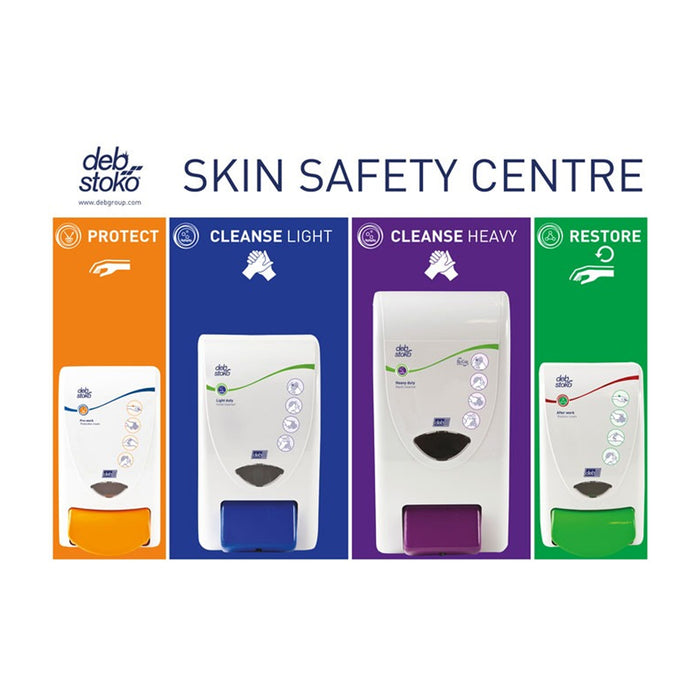 Deb Stoko Skin Safety Centre 3-Step (Large: 2 Litre + 4 Litre)