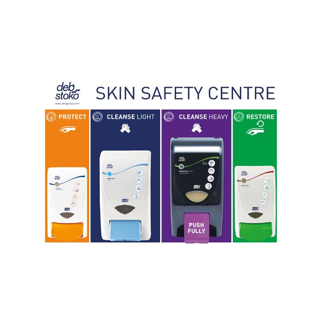 Deb Stoko Skin Safety Centre 3 Step ( Large: 2 Litre + GrittyFOAM)
