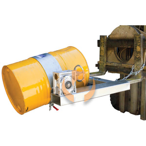 DER40H Forklift Drum Rotator (Hand Wheel)