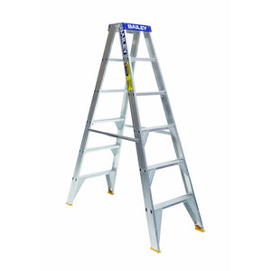 Double Sided Aluminium Step Ladder
