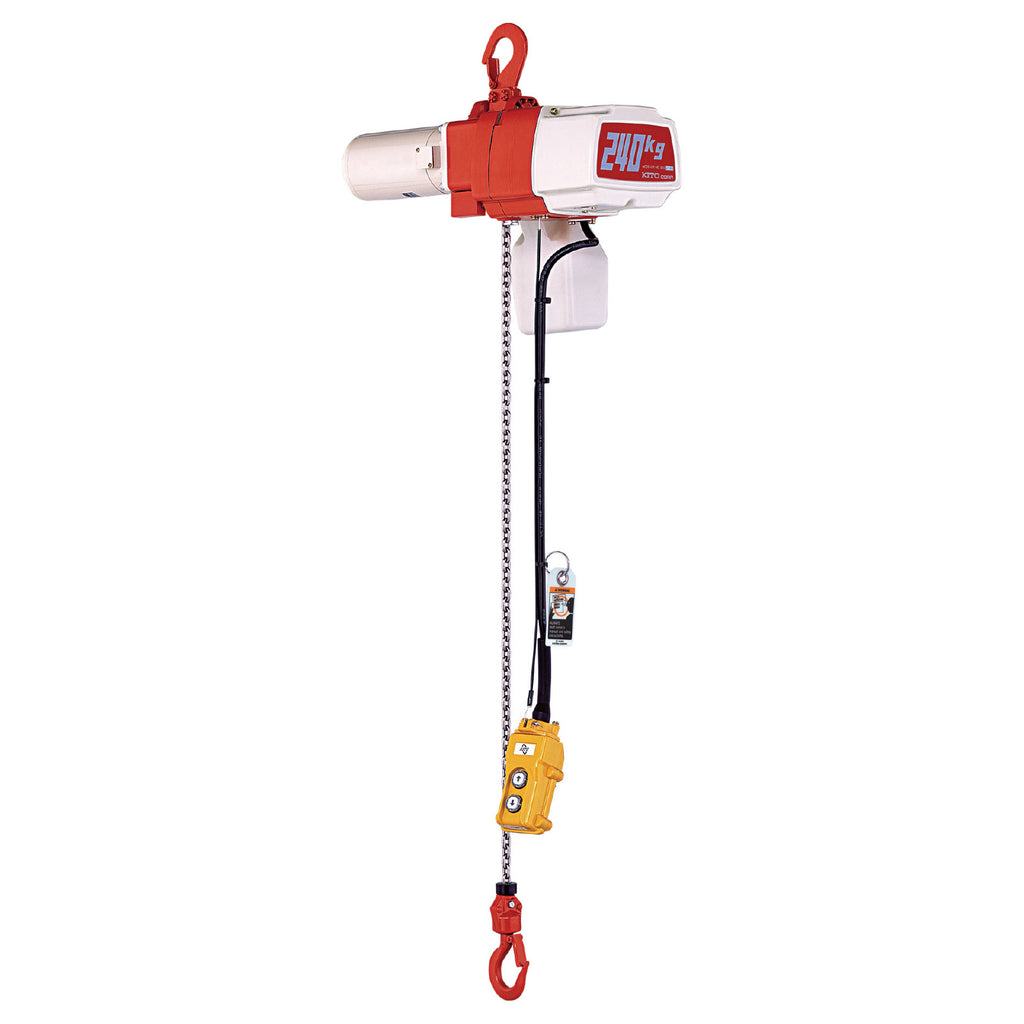 EDL Series Electric Chain Hoist - Single Speed (Pendant)