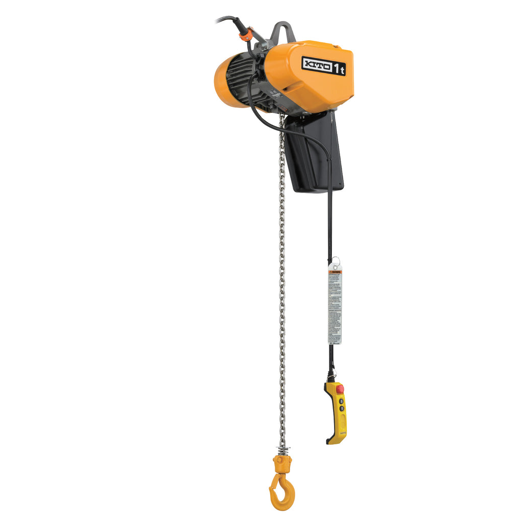 EQ Electric Chain Hoist - Dual Speed with Inverter