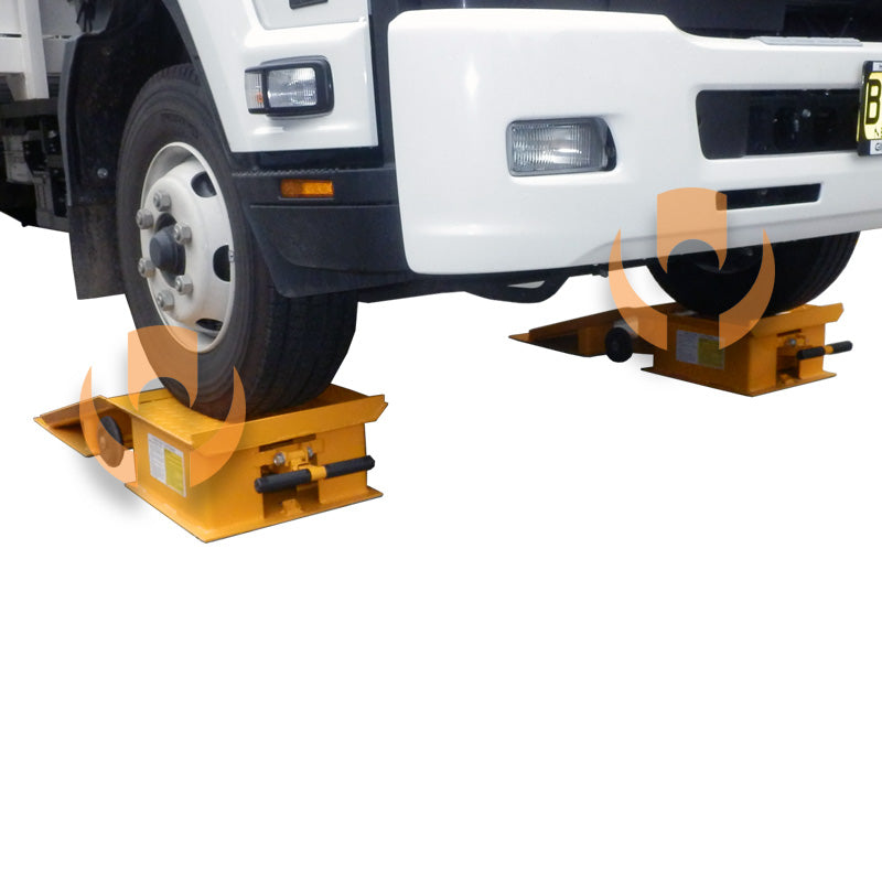 ETR Forklift and Truck Maintenance Ramp Set