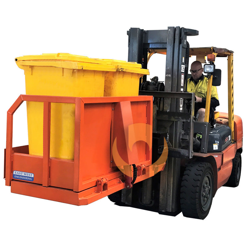 FHB24 Sideways Wheelie Bin Tipper