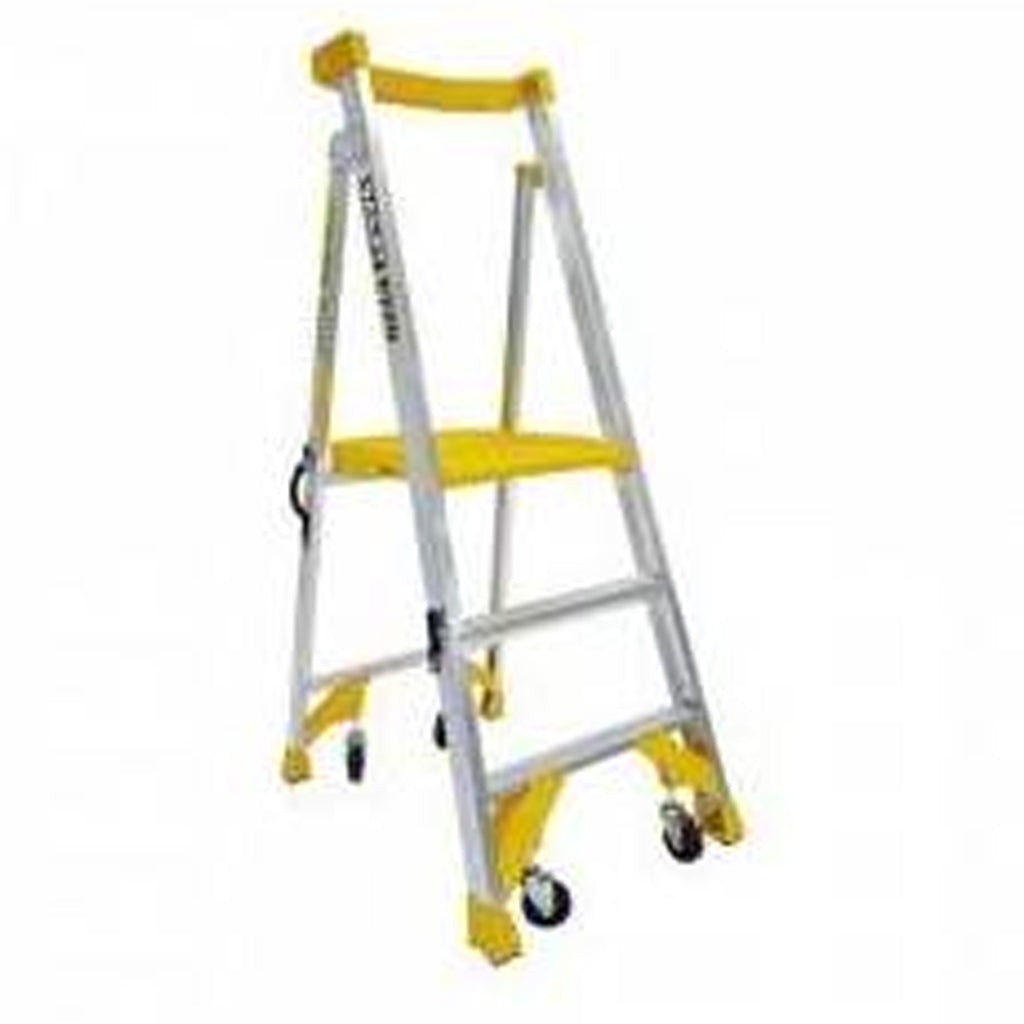 170Kg Bailey Alu Platform Ladder - JOB Station