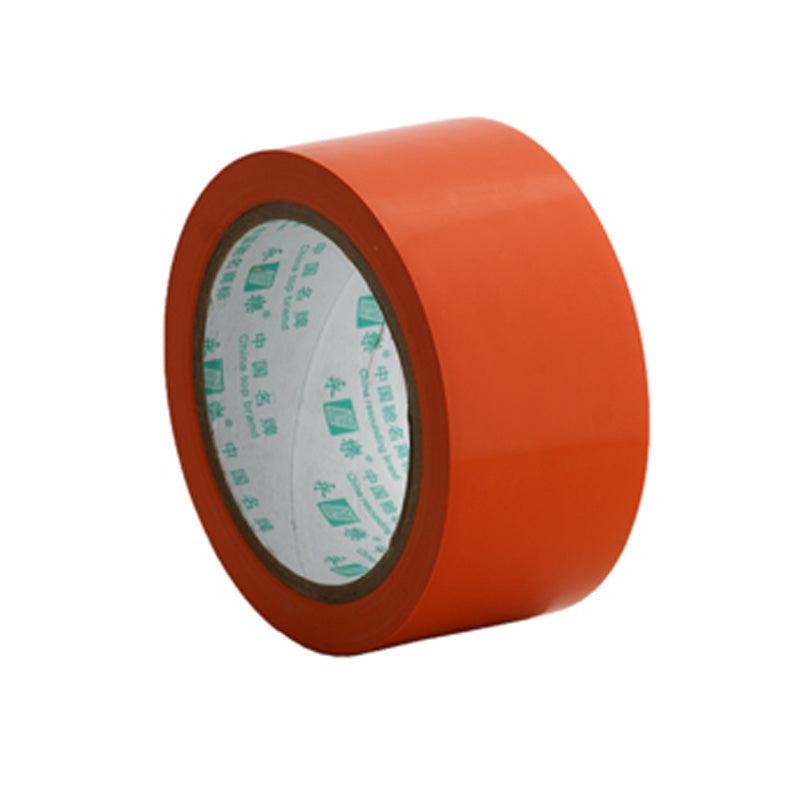 Floor marking tape 50mm orange