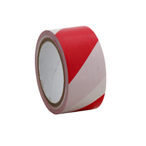 Floor marking tape 50mm Red White