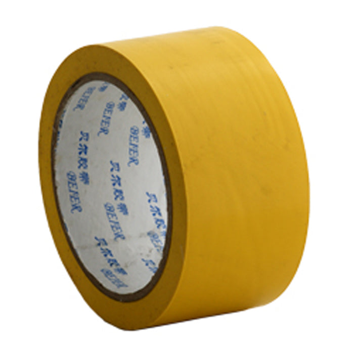 Floor marking tape 50mm Yellow